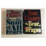 Tom Clancy HardCover Lot