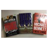 Lot of James Patterson Hard Cover Books