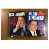 Rush Limbaugh Hard Cover Books