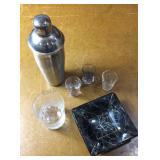 Bar Ware & Glass Ash Tray