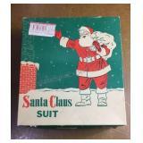 Vintage Never Used Santa Claus Suit