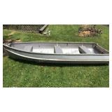 11 Ft Aluminum Rowboat, 51