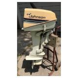 Vintage Johnson Seahorse Outboard Motor Model