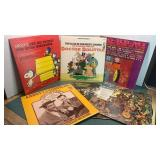 Lot Of  Albums Snoopy, Abbott & Costello, Dr