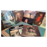 Lot Of Albums Waylon, Frankie Laine, Tom Jones, &