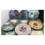 Collectible Ceramic Decorative Plates