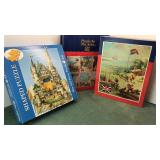 2 Vintage JigSaw Puzzles