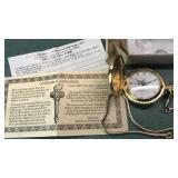 American International Mint Liberty Pocket Watch