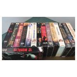VHS Movie Collection Gladiator, Independence Day,