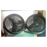 2 Honeywell Floor Fans