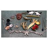 925 Silver Chain and Collection of Vintage