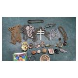 Sarah Coventry Necklace and Vintage Religious