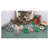 Collection of Handmade Beaded Christmas Ornaments
