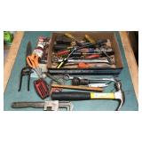Hand Tool Collection Hammers, Pipe Wrenches,