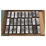 27 Pcs Lyman Lead Bars For Ammunition and other