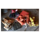 Lot of Old Life Jackets & Seat Cushins