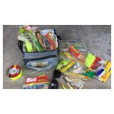 Lot of Fishing Tackle Artificial Bait