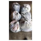 6 bags of Mystery Cloths