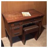Singer sewing Machine With Seat