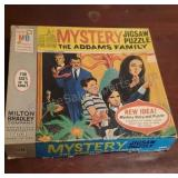 Vintage Adams Family Mystery Jigsaw Puzzle