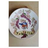 Vintage Fantasia Small Plate