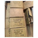 189 rounds 30 caliber ball M2