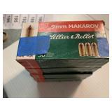 200 rounds of 9 mm Makarov