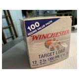 100 rounds 12 gauge target load
