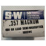 50 rounds 357 magnum