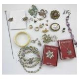 Jewelry: Pins, Bracelets, Rings, Necklace