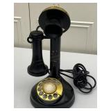 Vintage Analog Rotary Dial Telephone