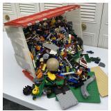 Large Bin Of Legos, Lego Pieces, Legoland Case