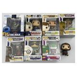 Funky Pop Hero NIB Figurines