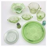 Vaseline, Vaseline-like Glass Pieces