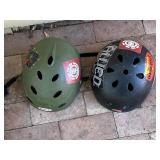 2pc Bicycle Helmets: Kids Size Large, Extra Large