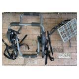 Folding Bicycle Basket, Trunk Mount Bike Carrier