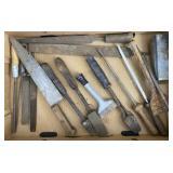Rasps, Knife, Chisel, Files, Sharpening Stones