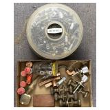 Door Knobs, Washers, Nuts, Bolts, Misc. Garage