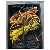 Assorted Three Prong Extension Cords