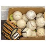 Softballs, Kids Franklin Baseball Mitt