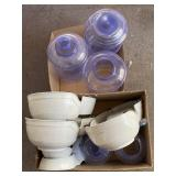 Five Sets Of Cat/ Dog Water Bowls, Feeders