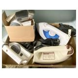 Three Piece Electric Clothes Irons, Fabric Shaver