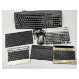 Keyboards, Tablet Keyboards, Mouse