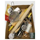 Baking Items: Rolling Pin, Hand Mixer, Timers