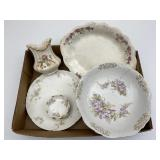 Collectible Porcelain China Dishes, Serving
