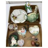 Collectible Items: Ceramic, Stone, Metal