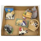 Cat Collectible Composite Figurines By Lenox