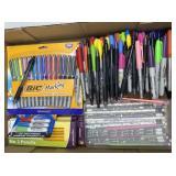 Assorted Pencils, Markers, Permanent Marker