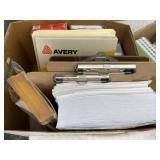 Office Supplies: Paper, Labels, Envelopes
