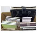 Notebooks, File Folder Carrier